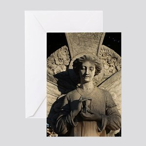 STATUE Greeting Cards