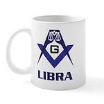 Masonic Libra Sign Mug