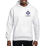 Masonic Libra Sign Hooded Sweatshirt