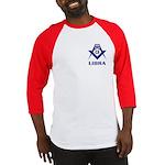 Masonic Libra Sign Baseball Jersey