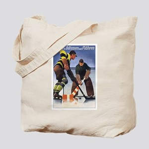 Vintage Czech Hockey Tote Bag
