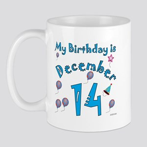 December 14th Birthday Mug
