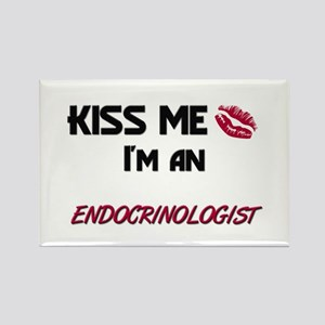 Kiss Me I'm a ENDOCRINOLOGIST Rectangle Magnet