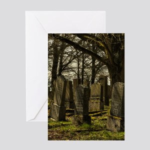 CEMETERY Greeting Cards