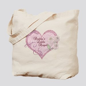 Daddy's Little Angel Tote Bag