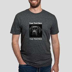 Dog Labrador Retriever Mens Tri-blend T-Shirt