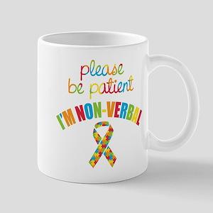 Non-Verbal Autistic Mug