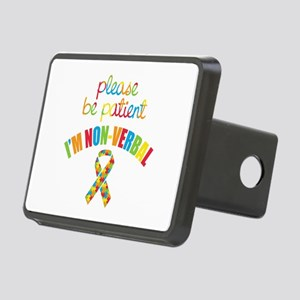 Non-Verbal Autistic Rectangular Hitch Cover