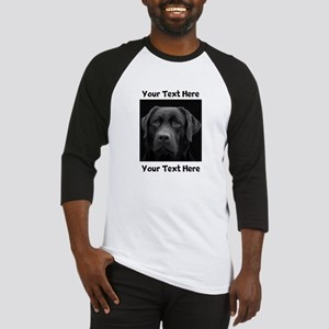 Dog Labrador Retriever Baseball Tee