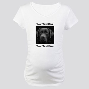 Dog Labrador Retriever Maternity T-Shirt