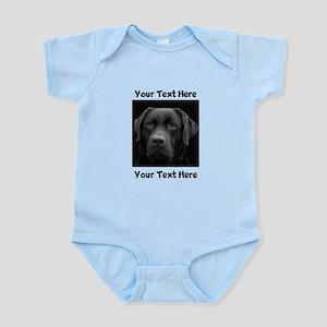 Dog Labrador Retriever Baby Light Bodysuit