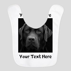 Dog Labrador Retriever Polyester Baby Bib
