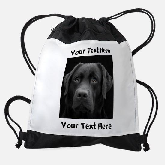 Dog Labrador Retriever Drawstring Bag