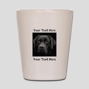 Dog Labrador Retriever Shot Glass