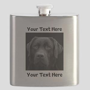 Dog Labrador Retriever Flask
