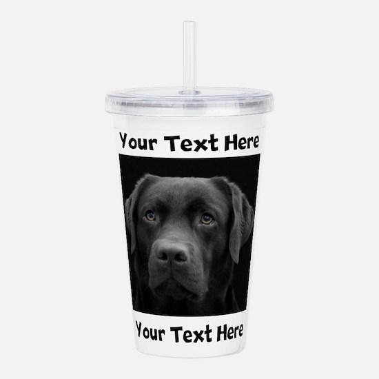 Dog Labrador Retriever Acrylic Double-wall Tumbler
