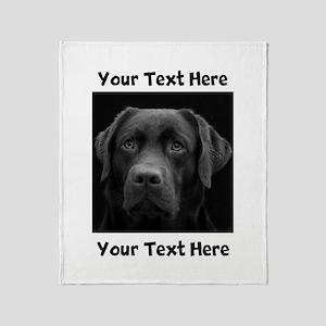 Dog Labrador Retriever Throw Blanket