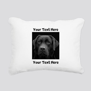 Dog Labrador Retriever Rectangular Canvas Pillow