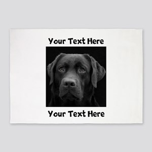 Dog Labrador Retriever 5'x7'Area Rug