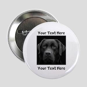 """Dog Labrador Retriever 2.25"""" Button"""