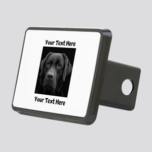 Dog Labrador Retriever Rectangular Hitch Cover
