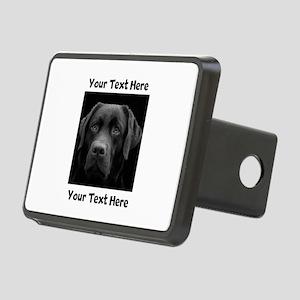 Dog Labrador Retriever Rectangular Hitch Cover