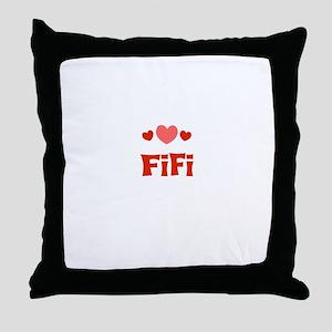 Fifi Throw Pillow