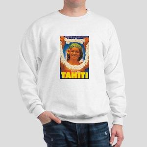 Vintage Tahiti Girl Sweatshirt