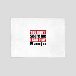 I Can Play Banjo 5'x7'Area Rug