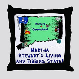 CT-Martha! Throw Pillow