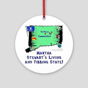 CT-Martha! Ornament (Round)