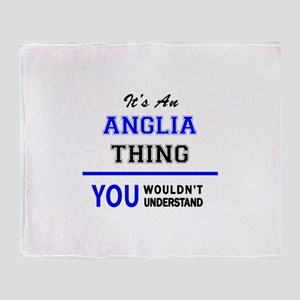 It's an ANGLIA thing, you wouldn't u Throw Blanket