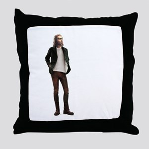 Hipster Jesus Fashion Throw Pillow