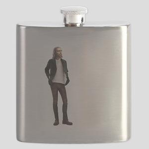 Hipster Jesus Fashion Flask