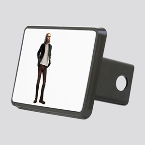 Hipster Jesus Fashion Rectangular Hitch Cover