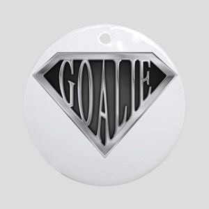 SuperGoalie(metal) Ornament (Round)