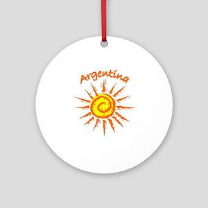 Argentina Ornament (Round)