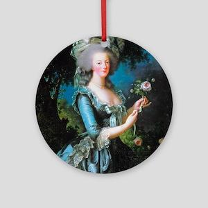 Vigée-Lebrun - Marie-Antoinett Round Ornament