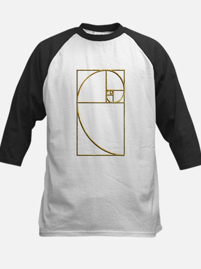 Golden Ratio Sacred Fibonacci Spiral Baseball Jers