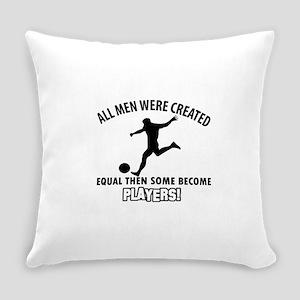 Soccer Designs Everyday Pillow