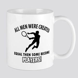 Tennis Players Designs Mug