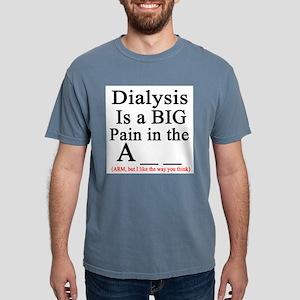 Dialysisisabigpain Ash Grey T-Shirt
