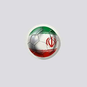 Iran Soccer Ball Mini Button