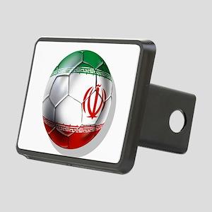 Iran Soccer Ball Rectangular Hitch Cover