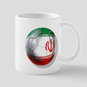 Iran Soccer Ball Mug