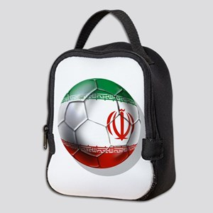 Iran Soccer Ball Neoprene Lunch Bag