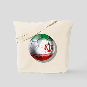 Iran Soccer Ball Tote Bag