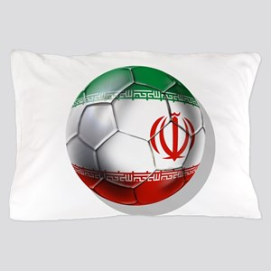 Iran Soccer Ball Pillow Case