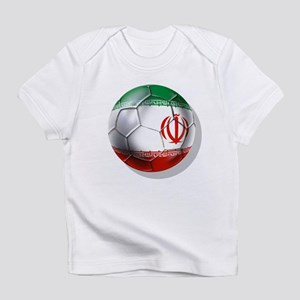 Iran Soccer Ball Infant T-Shirt
