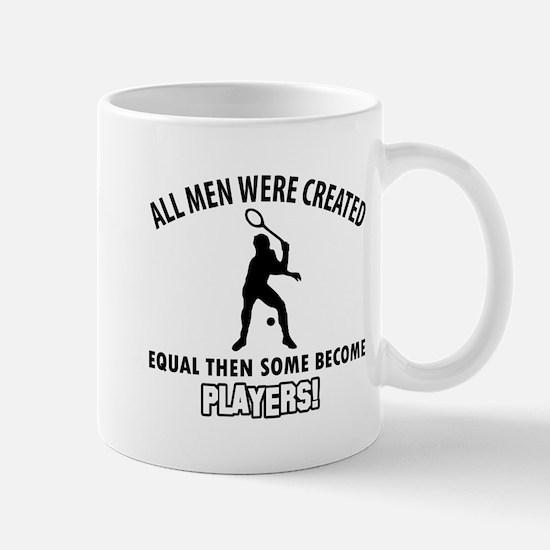 Squash Players Designs Mug